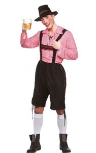 Oktoberfest Party Guy Costume (EM3233) Inc Shirt & Hat